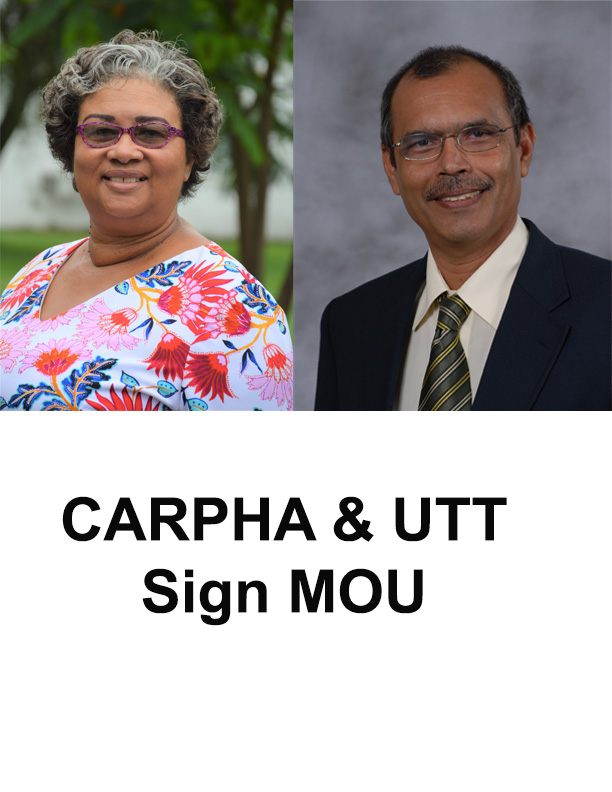CARPHA Collaborates with The University of Trinidad and Tobago  to Strengthen Health Education and Research in the Caribbean